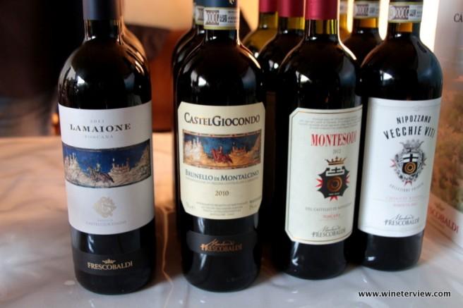 frescobaldi, vastel giocondo, nipozzano, chianti, brunetto montalcino, red wine, vino rosso, toscana, wine & siena,